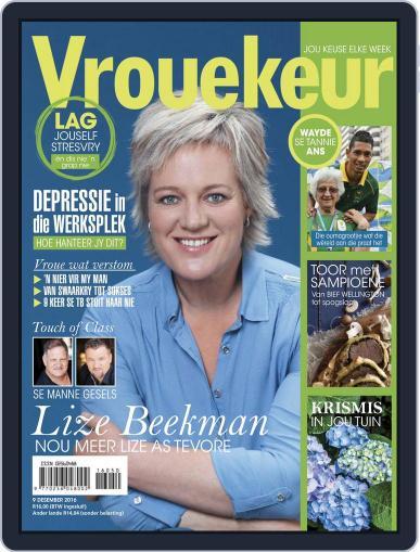 Vrouekeur December 9th, 2016 Digital Back Issue Cover