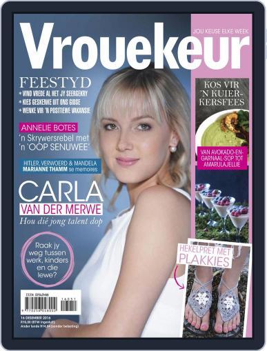 Vrouekeur December 16th, 2016 Digital Back Issue Cover