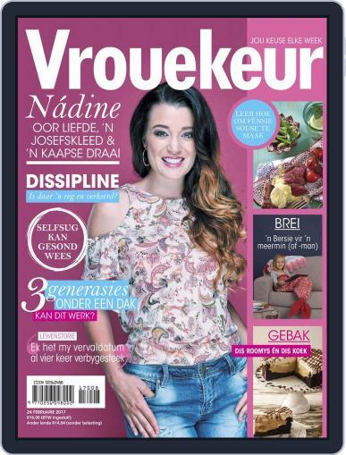 Vrouekeur (Digital) February 24th, 2017 Issue Cover
