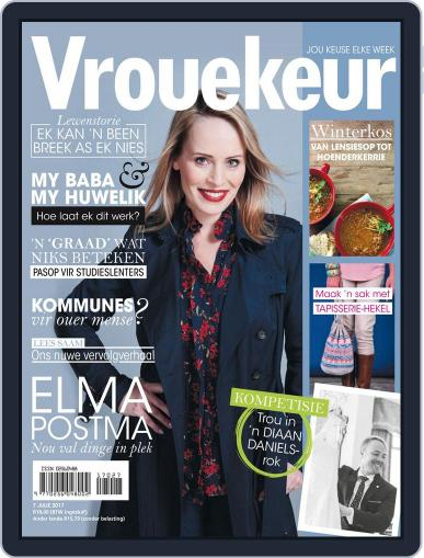 Vrouekeur July 7th, 2017 Digital Back Issue Cover