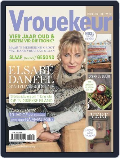 Vrouekeur (Digital) August 18th, 2017 Issue Cover