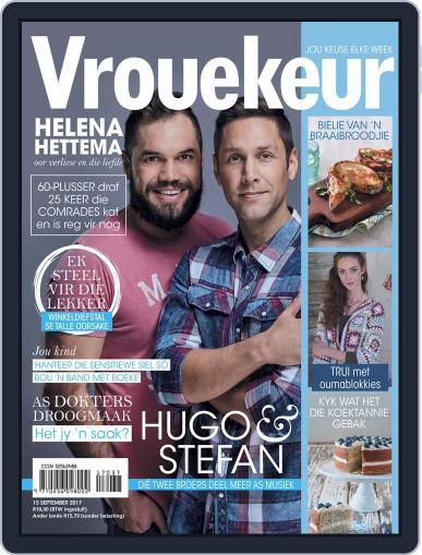 Vrouekeur September 15th, 2017 Digital Back Issue Cover