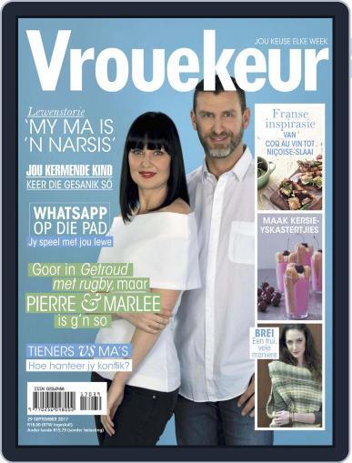 Vrouekeur September 29th, 2017 Digital Back Issue Cover