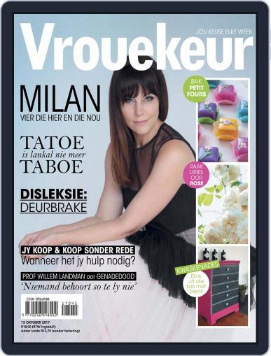 Vrouekeur (Digital) October 13th, 2017 Issue Cover