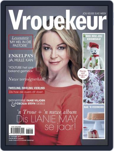 Vrouekeur (Digital) October 27th, 2017 Issue Cover