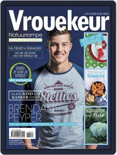 Vrouekeur (Digital) November 24th, 2017 Issue Cover