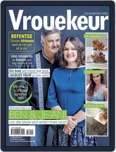 Vrouekeur February 2nd, 2018 Digital Back Issue Cover