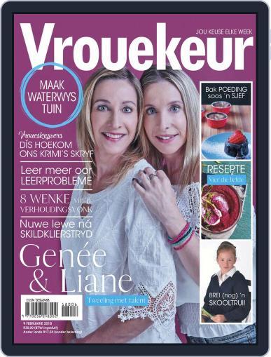Vrouekeur (Digital) February 9th, 2018 Issue Cover