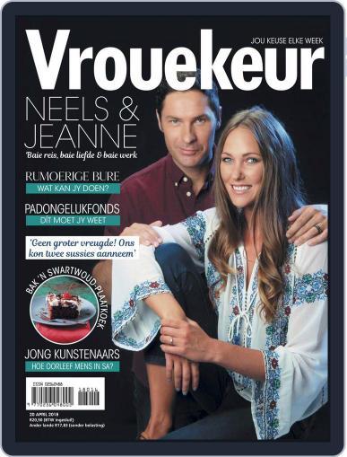 Vrouekeur April 20th, 2018 Digital Back Issue Cover