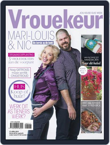 Vrouekeur April 27th, 2018 Digital Back Issue Cover