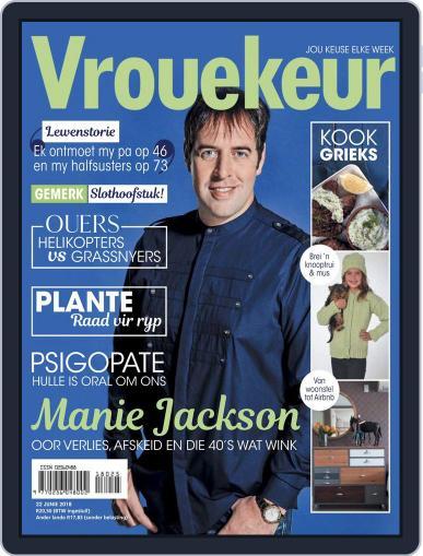 Vrouekeur June 22nd, 2018 Digital Back Issue Cover