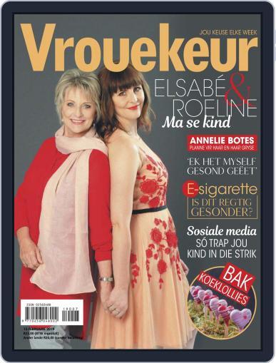 Vrouekeur February 15th, 2019 Digital Back Issue Cover