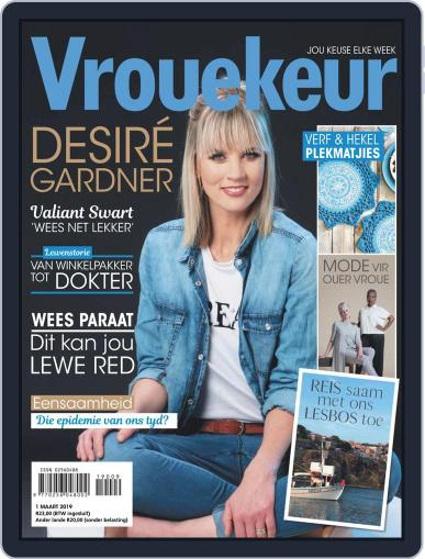 Vrouekeur March 1st, 2019 Digital Back Issue Cover