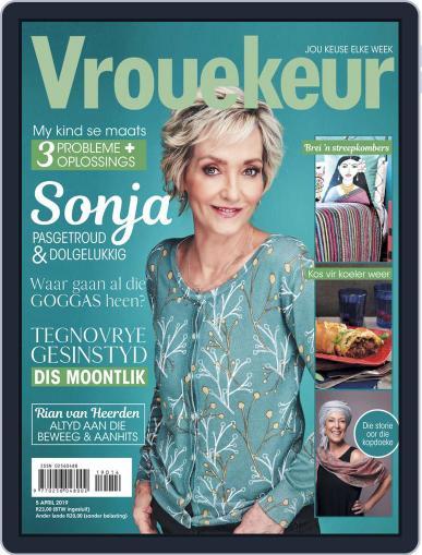 Vrouekeur April 5th, 2019 Digital Back Issue Cover