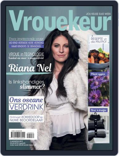 Vrouekeur (Digital) August 9th, 2019 Issue Cover