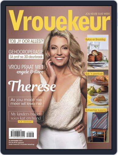 Vrouekeur September 20th, 2019 Digital Back Issue Cover