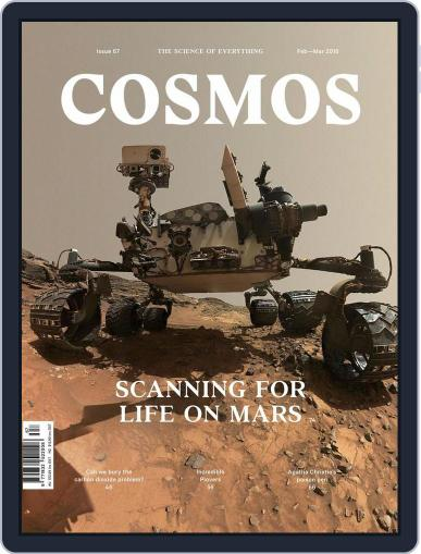 Cosmos January 28th, 2016 Digital Back Issue Cover