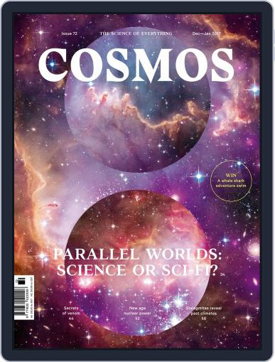 Cosmos (Digital) December 1st, 2016 Issue Cover