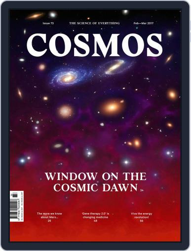 Cosmos (Digital) February 1st, 2017 Issue Cover