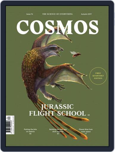 Cosmos April 1st, 2017 Digital Back Issue Cover