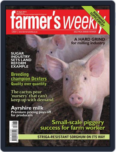 Farmer's Weekly (Digital) April 14th, 2013 Issue Cover