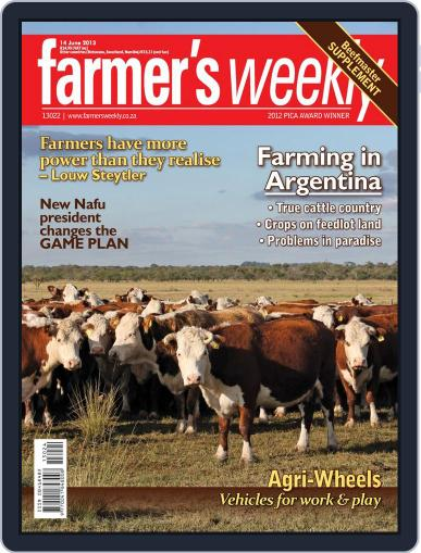 Farmer's Weekly (Digital) June 9th, 2013 Issue Cover