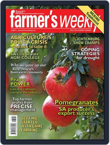 Farmer's Weekly (Digital) June 23rd, 2013 Issue Cover