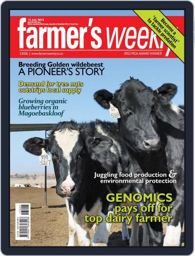 Farmer's Weekly (Digital) July 7th, 2013 Issue Cover