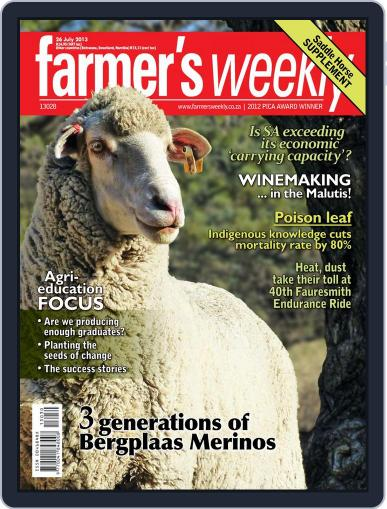 Farmer's Weekly July 21st, 2013 Digital Back Issue Cover