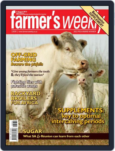 Farmer's Weekly (Digital) August 4th, 2013 Issue Cover