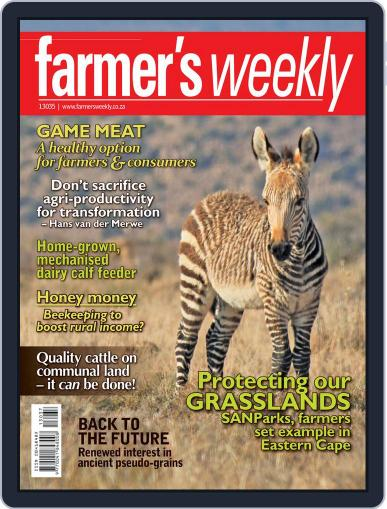 Farmer's Weekly (Digital) September 8th, 2013 Issue Cover