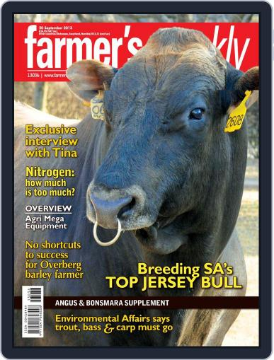 Farmer's Weekly September 15th, 2013 Digital Back Issue Cover