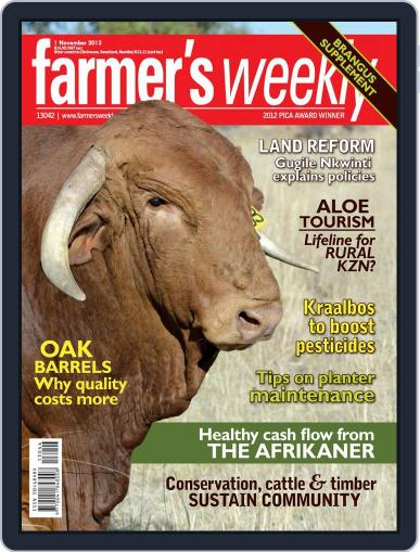 Farmer's Weekly October 27th, 2013 Digital Back Issue Cover