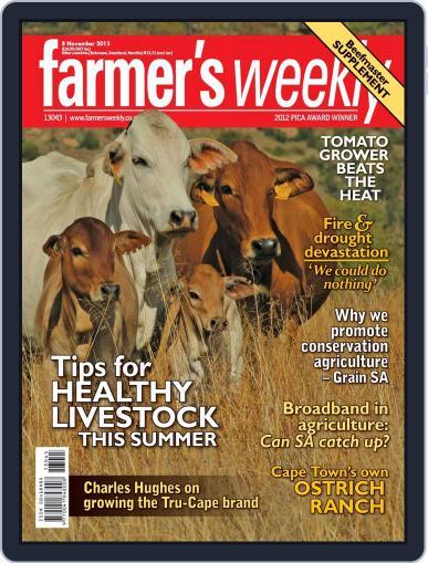 Farmer's Weekly (Digital) November 3rd, 2013 Issue Cover