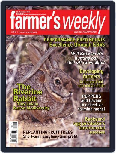 Farmer's Weekly (Digital) November 17th, 2013 Issue Cover