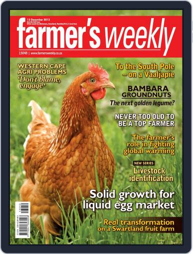 Farmer's Weekly (Digital) December 8th, 2013 Issue Cover