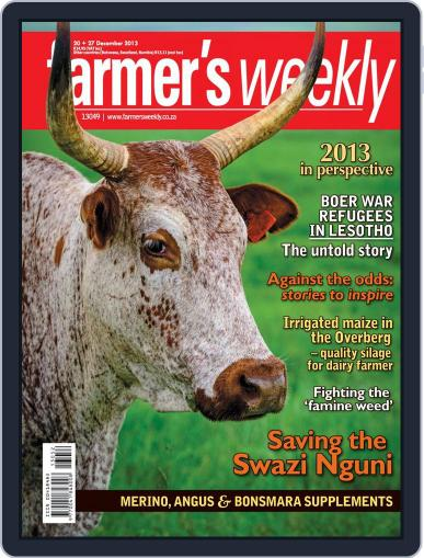 Farmer's Weekly (Digital) December 15th, 2013 Issue Cover