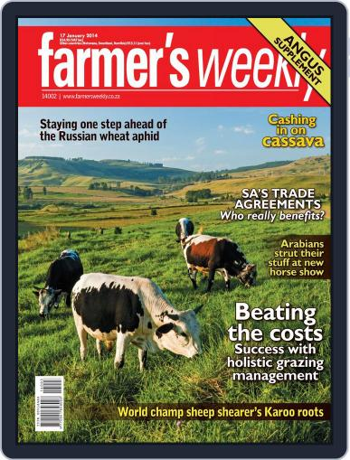 Farmer's Weekly (Digital) January 13th, 2014 Issue Cover