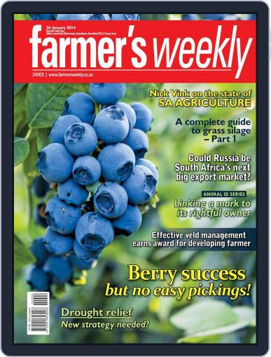 Farmer's Weekly January 20th, 2014 Digital Back Issue Cover