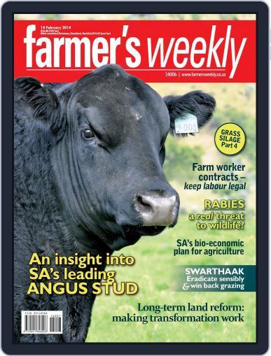 Farmer's Weekly (Digital) February 10th, 2014 Issue Cover