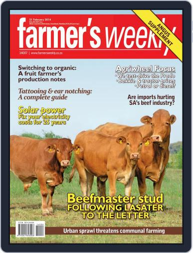 Farmer's Weekly February 17th, 2014 Digital Back Issue Cover