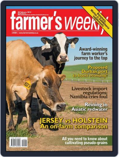 Farmer's Weekly February 24th, 2014 Digital Back Issue Cover