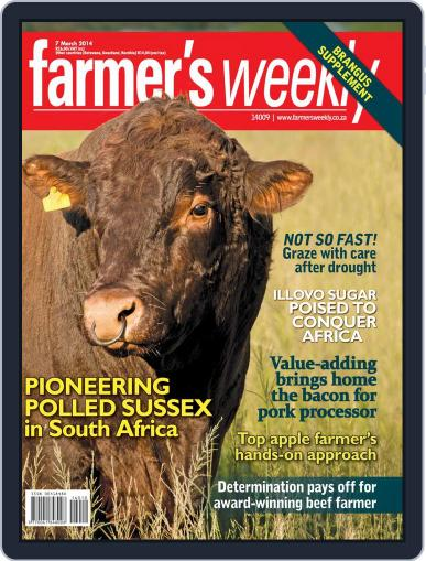 Farmer's Weekly March 3rd, 2014 Digital Back Issue Cover