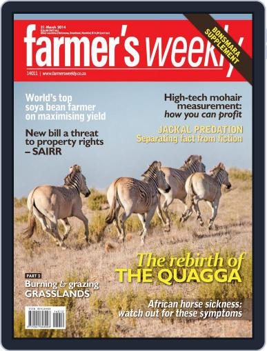 Farmer's Weekly March 17th, 2014 Digital Back Issue Cover
