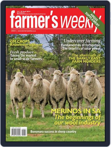 Farmer's Weekly (Digital) April 14th, 2014 Issue Cover