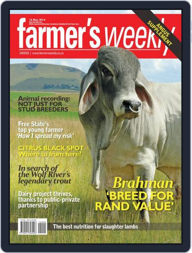 Farmer's Weekly (Digital) May 12th, 2014 Issue Cover