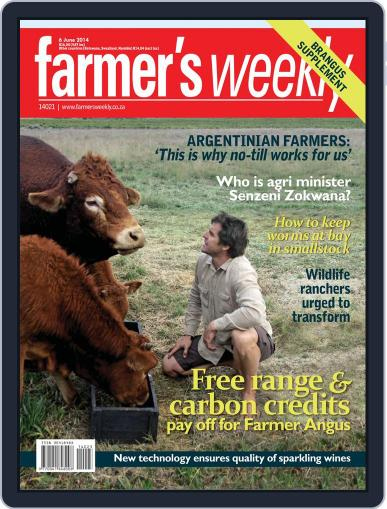 Farmer's Weekly June 2nd, 2014 Digital Back Issue Cover