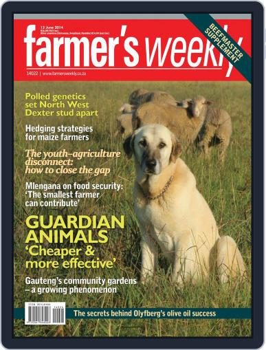 Farmer's Weekly (Digital) June 9th, 2014 Issue Cover