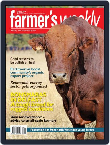 Farmer's Weekly (Digital) June 16th, 2014 Issue Cover