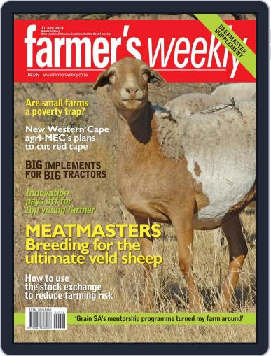 Farmer's Weekly July 7th, 2014 Digital Back Issue Cover